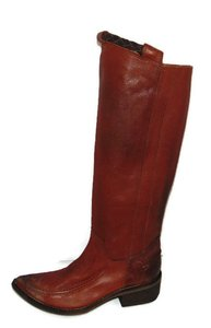 Free People Tritone Tall Western Brown Boots