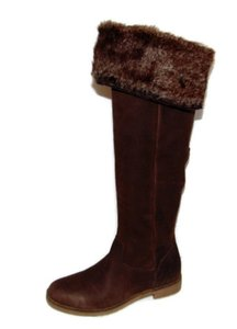 Lucky Brand General Over The Knee Brown Boots