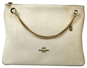 Coach Pebble Leather Cross Body Bag
