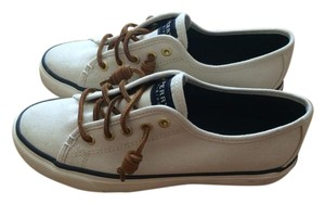 Sperry Canvas Sneaker Ivory Athletic