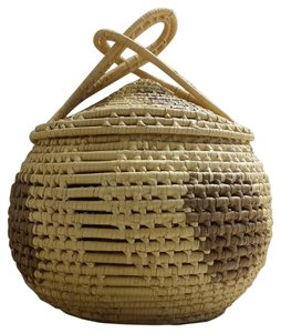 Handmade Basket with Lead