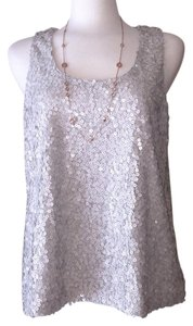 Vince Camuto Top Silver