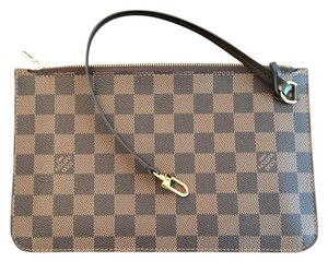 Louis Vuitton Wrislet Wristlet in Damier Ebene
