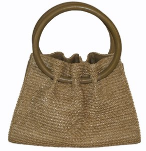 Lisa Barfield Tote in beige
