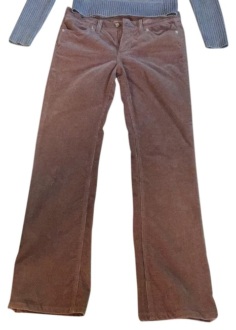 Item - Brown with Gold Hardware Boot Cut Jeans Size 27 (4, S)