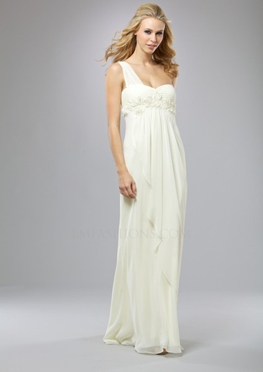 Preload https://item3.tradesy.com/images/ivory-polyester-blend-lm-collection-hk305-one-shoulder-grecian-draped-feminine-wedding-dress-size-16-19777-0-0.jpg?width=440&height=440