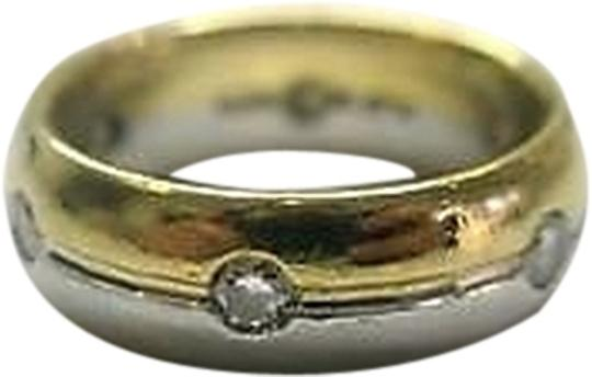 Other Fine Platinum 18kt Thick Diamond Band 0.30ct