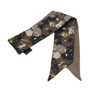 Coach Painted Floral Pony Tail Scarf F85188 MSRP $40