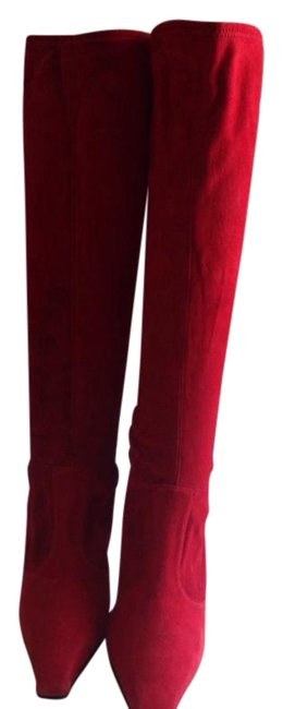 Item - Red Boots/Booties Size US 4 Regular (M, B)