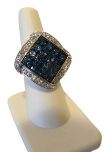 "Colleen Lopez Colleen Lopez ""Blue Belle"" Blue Topaz Ring 8"