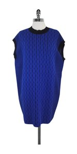 Alexander Wang short dress Blue Black Sweater on Tradesy