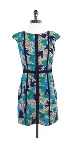 Tracy Reese short dress Multi Color Cap Sleeve on Tradesy
