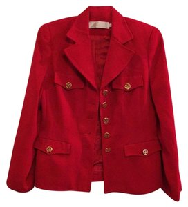 Vogue Camicia Red Blazer