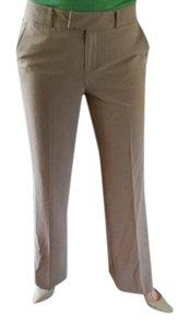 Express Wide Leg Pants Tan/Beige