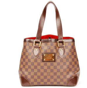 Louis Vuitton Hampstead Pm Damier Ebene Tote in Brown