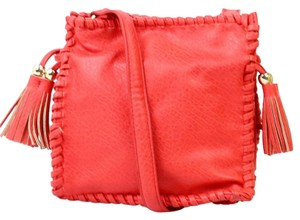 Big Buddha Leather Cross Body Bag