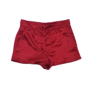 Marc Jacobs Red Satin Shorts