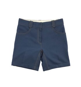 Marc Jacobs Blue Cuffed Shorts