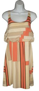 Alice + Olivia short dress Geometric Silk Blouson on Tradesy