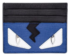 Fendi Metallic Monster Eyes Card Case