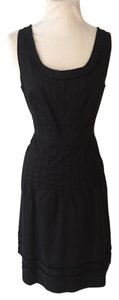 Tory Burch Pintuck Fitted Dress