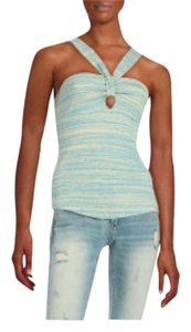Free People Juniors Top Aqua Combo