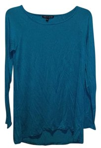 Cable & Gauge T Shirt Turquoise