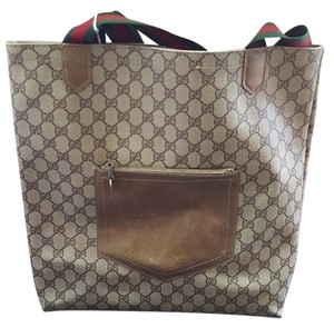 Gucci Monogram Vintage Canvas Tote in GG Supreme
