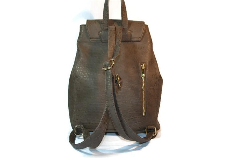 Urban Expressions Kingsley Taupe Vegan Leather Backpack - Tradesy