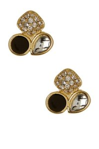 Ariella Ariella Collection Round Cluster Stud Earrings