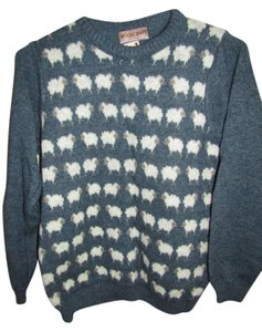 Nordstrom Sheep Cute Animal Print Sweater