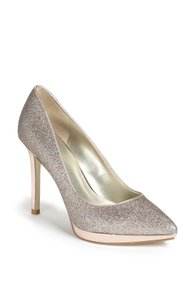 Ivanka Trump Pump Rose Gold Rainbow Glitter Pumps
