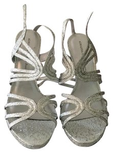 Adrianna Papell Silver Formal
