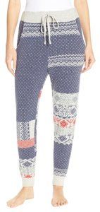 Free People Joggers Fair Isle Snuggle Pants