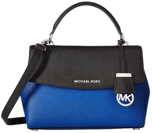 Michael Kors Michael Handle Colorblock Satchel Ava Small Top Swingpack Cross Body Bag