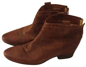 Frye Ankle Brown Boots