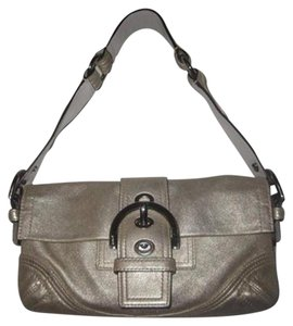 Coach Chrome Hardware Excellent Condition Roomy Style Dressy Or Casual Color Baguette