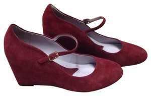 Johnston & Murphy Red merlot Pumps