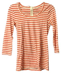 J.Crew T Shirt Red/white