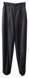 Chanel Wool Vintage Trouser Trouser Pants gray