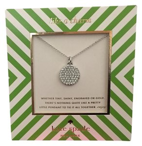 Kate Spade All That Glitters Idiom Necklace