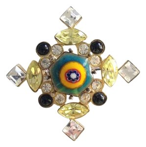 Christian Lacroix Christian Lacroix enameled Brooch / Pin