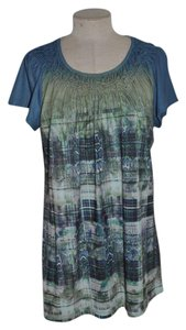 Unity World Wear Mixed Print Casual Top