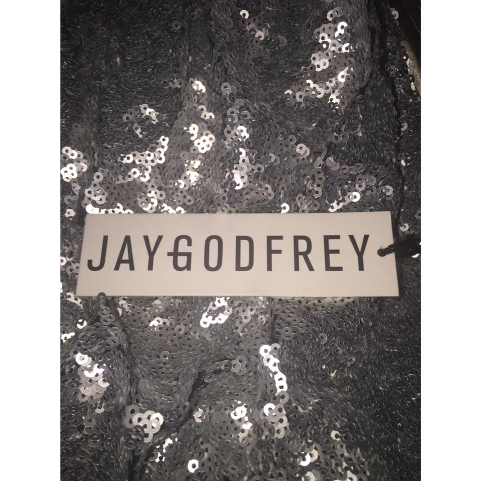 aa34230e371 Jay Godfrey N W T Size 2    Free Shipping   Silver Sequined ...