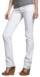 7 For All Mankind Stretch Straight Leg Jeans-Light Wash