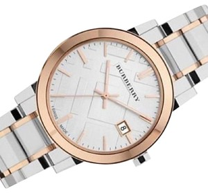 Burberry Burberry City Large Two Tone Watch 38mm