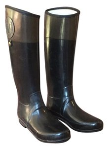 Hunter Brown Black Black, brown/olive Boots
