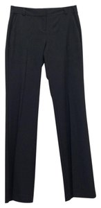 Eileen Fisher Trouser Wool Stretch Polished Boot Cut Pants Black