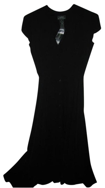 Item - Black Silk Clothes/Nwt Designer Clothes Long Night Out Dress Size 6 (S)