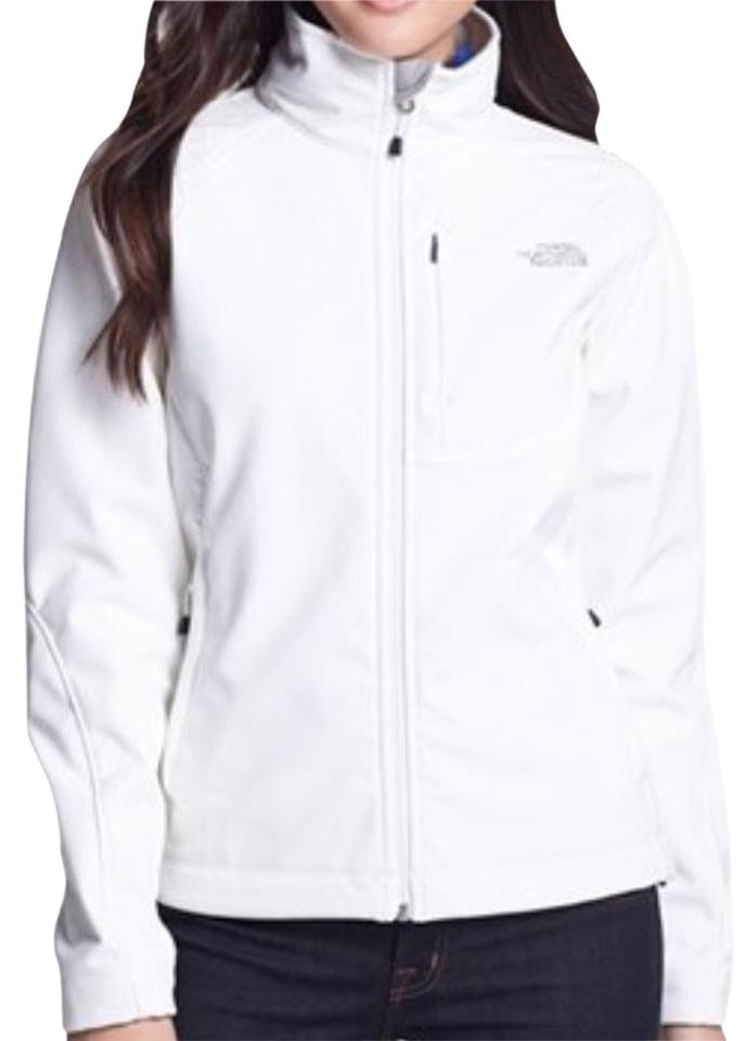 01c1499aa8df9 The North Face White Apex Bionic Soft Shell Jacket Size 6 (S) - Tradesy
